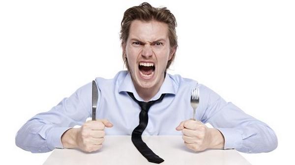 Доказано: чувство голода и злость идут рука об руку